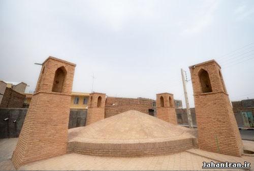آب انبار محله «مون» اردستان