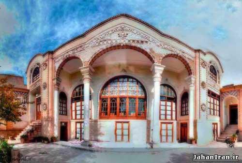 خانهٔ علوی (موزه زنده سفال) تبریز