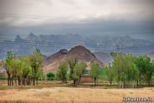 کوه شیورداغی و قلعه شیور داغ، اهر